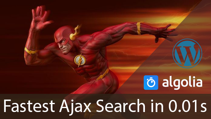 [WordPress Plugin] Fastest Ajax Search in 0.01s – Full Guide – Algolia